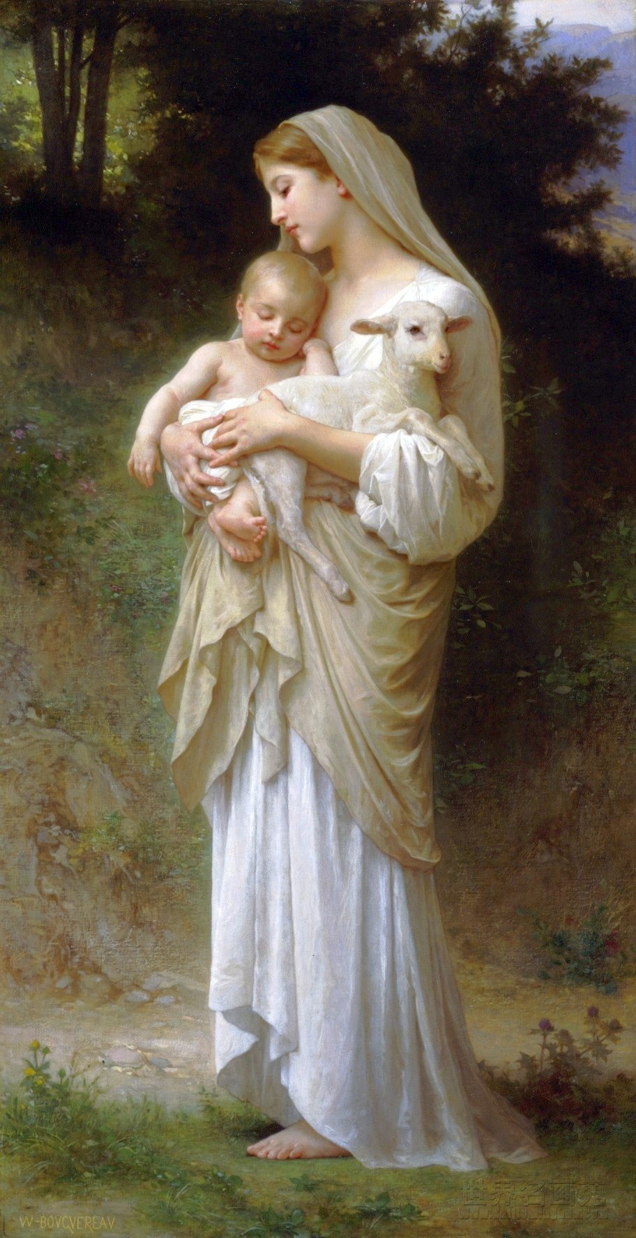 L'Innocence (1893), by William Bouguereau
